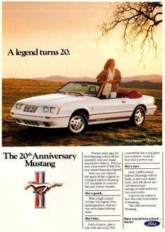 1984 20th anniversary edition I learned how to drive on this car. Nice way to get going when I was 16