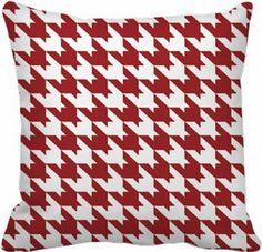 Capa Almofada Vermelha - 40x40 - Xadrez - Quero Almofadas.  Criatividade você encontra aqui! Produtos Fora de Série para todos os momentos