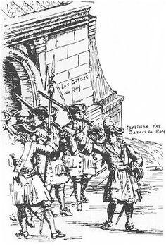 The Scottish Regiment of Foot Guards at Holyrood House, Edinburgh circa. Armies, British Isles, Military History, 17th Century, Edinburgh, Wales, Scotland, Ireland, 18th