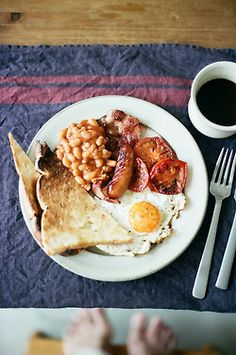 Full English breakfast... The best hangover cure known to man.