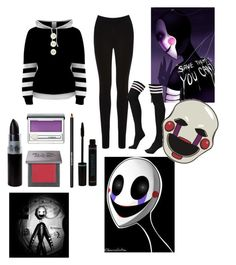 """Marionette Inspired Outfit"" by megan-jamer on Polyvore featuring Oasis, Freddy, Urban Decay, Clinique, Lancôme, marionette, fnaf and fivenightsatfreddys"