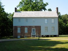 Front of the Garthright House, between the lines of the two armies at both Gaines's Mill in 1862, and Cold Harbor in 1864.