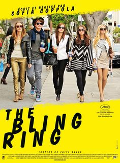 The Bling Ring. Not my favorite Sofia Coppola but still a good one. I wish Leslie Mann was in it more though.