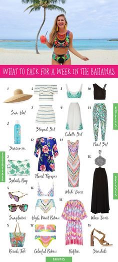 What to Pack for a trip to a tropical island