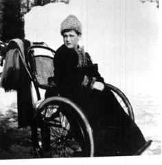 Alexei, Tobolsk, wheelchair, 1917/8?: