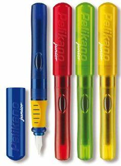 Amazon.com - Pelikan P67 A Pelikano Junior Green Fountain Pen -