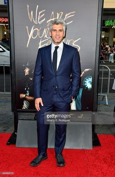 Writer/director Max Joseph attends the premiere of Warner Bros. Pictures' 'We Are Your Friends' at TCL Chinese Theatre on August 20, 2015 in Hollywood, California.