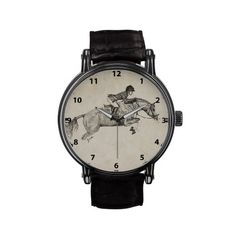 Vintage inspired hunter jumper equestrian wrist watch! Very stylish and perfect horse stuff for the horse and pony lover! #equine #ponies #horses