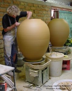 Warwick Palmateer and his amazing pots