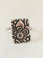 Fine silver ring! Find this ring at www.thesilverstudio.net.