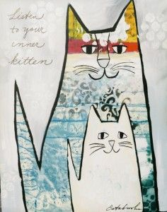 Listen to your inner kitten by Donna Estabrooks