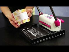 Video tutorial on how to use the Cinch binding machine