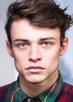 Thomas Doherty in a portfolio picture for the modeling agency...