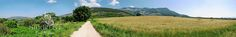 Sezze Romano - Panorama di via Longara