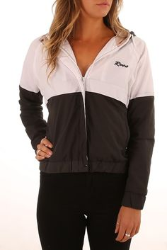 RVCA Spritz Spray Jacket Pirate Black