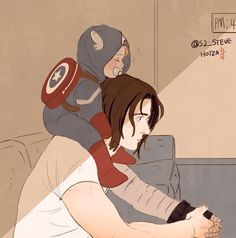 Assuming Bucky and Nat had ever spawned, we all know Bucky would have insisted on at least one captain America outfit for their spawn