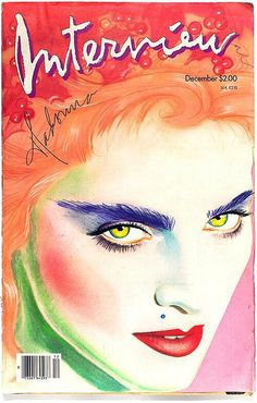 over photograph of Madonna by Herb Ritts. Cover design by Richard Bernstein From the Andy Warhol exhibit at the Montreal Museum of Fine Arts, which runs from Sept. The Andy Warhol Foundation for Visual Arts Inc. Joan Collins, Grace Jones, Mode Bizarre, Pop Art, Andy Warhol Art, Magazin Covers, Herb Ritts, Movie Posters, Magazine Covers