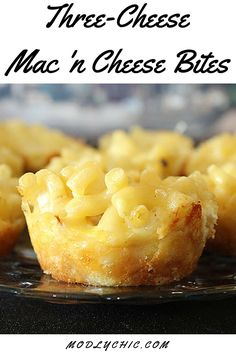 It's March and you know what that means - basketball!!Make this awesome three-cheese mac 'n cheese bites for every party. AD #GameForBasketball