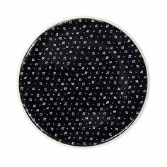 Marimekko Muija Black Salad Plate