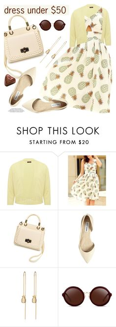"""""""Dress Under $50"""" by paculi ❤ liked on Polyvore featuring M&Co, Steve Madden, 3.1 Phillip Lim, zaful and Dressunder50"""