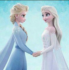 Princesss Elsa Frozen II Different Color Elsa Frozen Disney, Elsa Frozen, Disney Pixar, Frozen Movie, Disney And Dreamworks, Walt Disney, Disney Art, Disney Princess Quotes, Disney Princess Drawings
