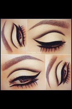 creative eyeliner