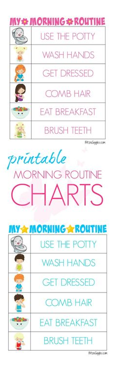 Printable Morning Routine Charts Printable Morning Routine Charts – Free printable kids morning routine charts to help teach kids independence and provide guidance for their morning routine! Charts for boys and girls! Morning Routine Chart, Morning Routine Kids, Morning Routine Checklist, Morning Morning, Kids And Parenting, Parenting Hacks, Mindful Parenting, Peaceful Parenting, Gentle Parenting