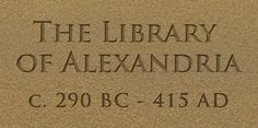 The City of Alexandria and its treasure the great Library of Alexandria was an unsurpassed centre of philosophy, science, and religion founded on the living truth of the Ageless Wisdom.