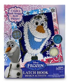 Look at this Frozen Olaf Latch Hook Activity Kit on #zulily today!
