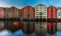 Nidelva Trondheim  by Aziz Nasuti on 500px
