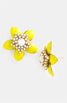 Kate Spade New York - Daffodil Earrings at ShopStyle :-)