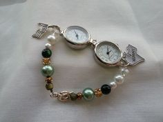 Customizable+Silver+Dual+Timezone+Deployment+by+BattalionBeads,+$29.00