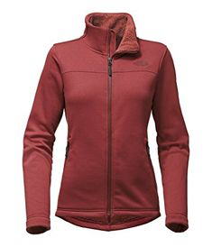 bf9e7e6a9086 The North Face Women s Timber Full Zip Top - Small - Barolo Red