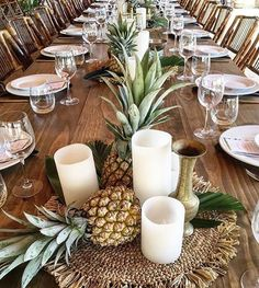 Tropicale table setting for @flash_camp over the weekend using our bamboo folding chairs, brass vessels & raffia placemats> styled by @thegrove_styling