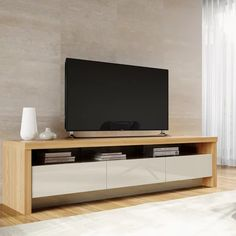 online shopping for Makiver TV Stand TVs 88 Orren Ellis from top store. See new offer for Makiver TV Stand TVs 88 Orren Ellis Tv Furniture, Living Room Furniture, Living Room Decor, Furniture Stores, Barbie Furniture, Garden Furniture, Living Rooms, Furniture Removal, Furniture Online