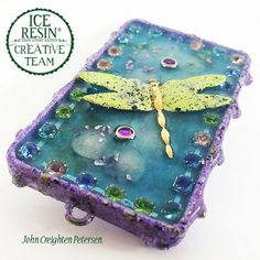 How to Cold Enamel a Bezel Setting Using ICE Resin and Iced Enamels DIY by John Creighten Petersen