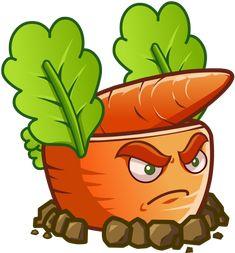 Plants vs Zombies 2 Carrot Rocket Launcher by illustation16 on DeviantArt