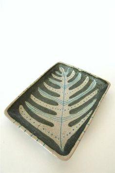 Mid Century Modern Guido Gambone Italy Art Pottery Platter Signed | eBay