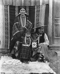 Nez Perce named Charlie Wilpoken and family,  Colville Indian Reservation,  Washington,  ca. 1903.