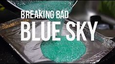 Cook up a batch of Heisenberg's Blue Sky - the legal way!  Here is a quick and easy tutorial on how to make Walt's famous blue crystal meth. #halloweenideas #bluesky #rockcandy #itstheak