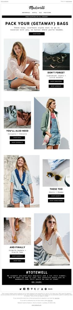 Madewell - We packed for you