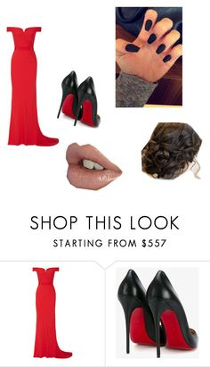 """""""Prom"""" by maddie-grace-hancock ❤ liked on Polyvore featuring Alexander McQueen and Christian Louboutin"""