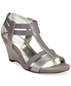 Alfani Maribeth Wedge Sandals - Alfani - Shoes - Macy's