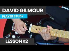 Guitar Chord Chart, Guitar Tabs, Guitar Chords, David Gilmour Guitar, Lead Guitar Lessons, Pink Floyd, Guitar Youtube, Guitar Notes, Guitar Tutorial