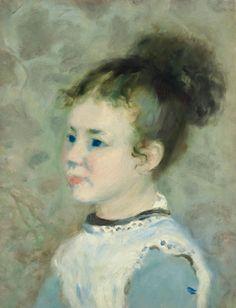 Pierre-Auguste Renoir PORTRAIT DE JEANNE SISLEY