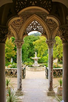 Monserrate Palace  Sintra - Portugal.....Ugh. Time to go.