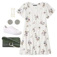 """""""Untitled #4699"""" by magsmccray on Polyvore featuring Abercrombie & Fitch, Forever 21 and Chloé"""