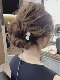 Rumor×ゆるっとお団子ヘア「担当:ANNA」 - 24時間いつでもWEB予約OK!ヘアスタイル10万点以上掲載!お気に入りの髪型、人気のヘアスタイルを探すならKirei Style[キレイスタイル]で。