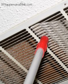 How to Clean the Air Return Vent Cover Air Return Vent Cover, Air Vent Covers, Utility Bill, House Cleaning Tips, Cleaning Kit, Cleaning Air Vents, Clean All The Things, Ac Vent