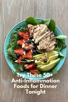 Create yummy meals with this comprehensive list of anti-inflammatory foods to try
